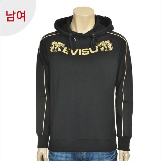 Ebisu male tiger _ Hood T-shirt