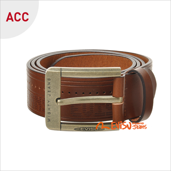 Belt_ Indian perforated leather Belt